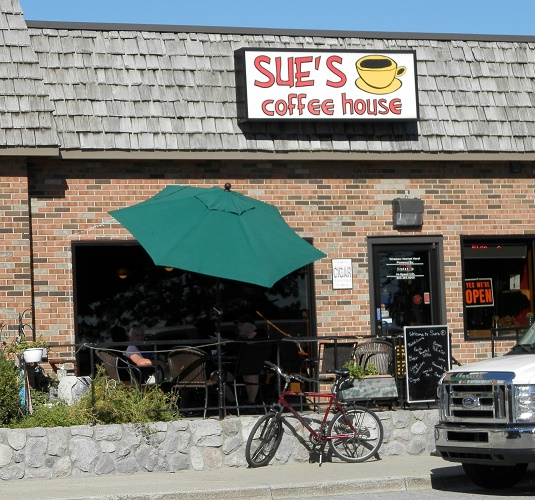 Sue's Coffee Shop in St. Clair is a family-owned store.
