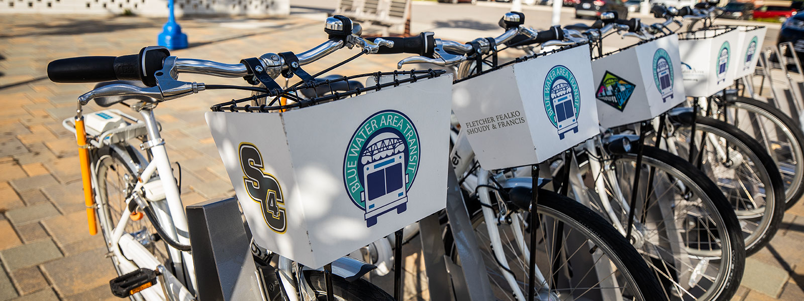 In addition to becoming more walkable, Port Huron is improving its bikeability. <span class='image-credits'>David Lewinski</span>