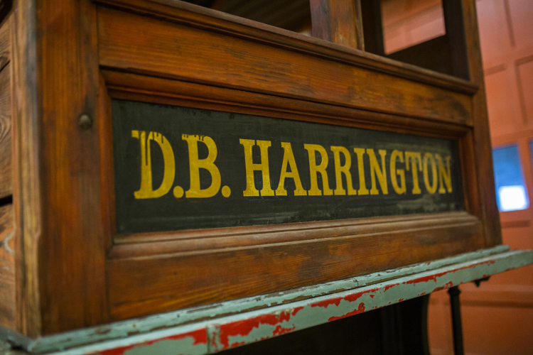 In the late 1800's D.B. Harrington delivered goods to Port Huron.