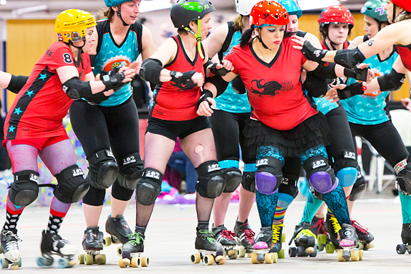 Dead River Derby spreads the love for roller derby in the U.P.