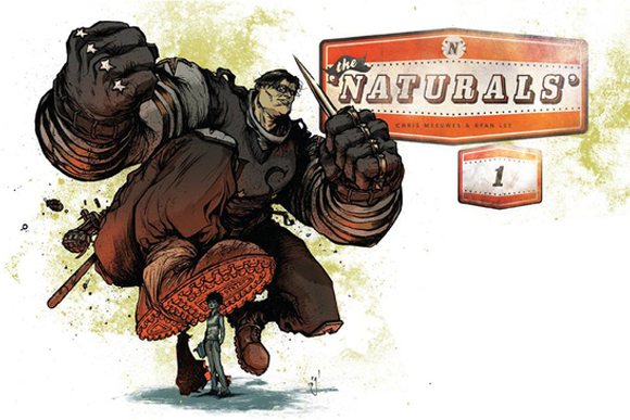 The cover for Ryan Lee and Chris Meeuwes' comic, The Naturals.