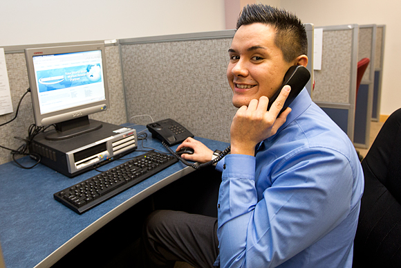 Issues and Answers call center, Iron Mountain