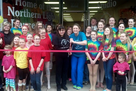 Great Lakes Arts & Dance is now officially open.