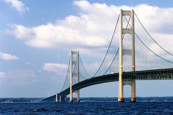The Mighty Mac -- a great part of any beautiful drive.