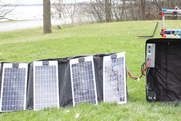 Solar powered 3D printing is now possible.