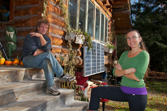 Solar power is a must-have living off-grid.