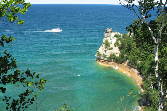 Miners Castle at Pictured Rocks.