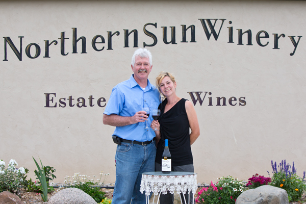 Dave and Susie of Northern Sun Winery