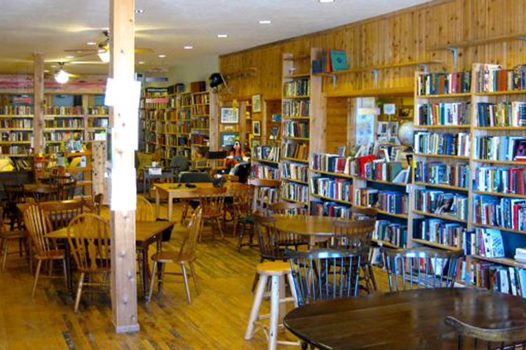 Falling Rock Cafe and Bookstore in Munising