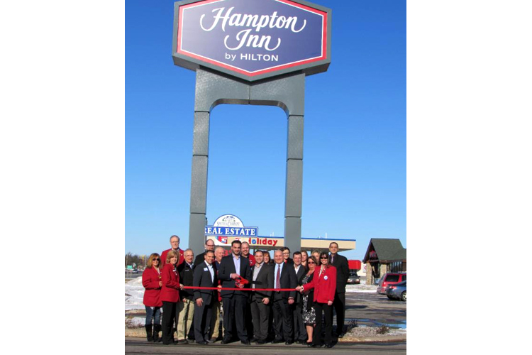 A new Hampton Inn now graces the Sault.