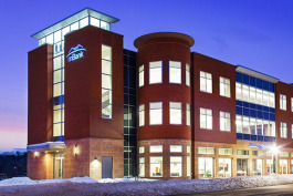 The new mBank building in Marquette was designed by Myefski Architects.