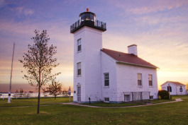 Sand Point Lighthouse in Escanaba.