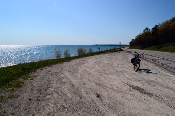 What i learned from a week biking the trails of the up mark wedel lake michigan on the way to st ignace along us 2 sciox Image collections