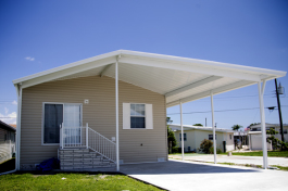 Manufactured home communities also sometimes offer old-fashioned neighborhood amenities.