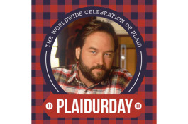 Plaidurday is celebrated on the first Friday of October.