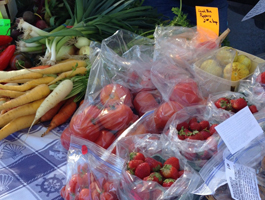 Ski Country Farm at the Sault Farmer's Market.
