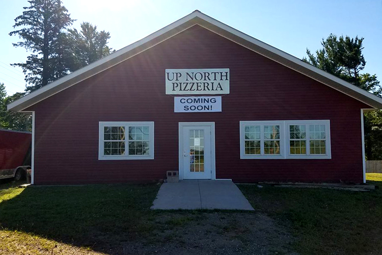 Up North Pizzeria in L'Anse