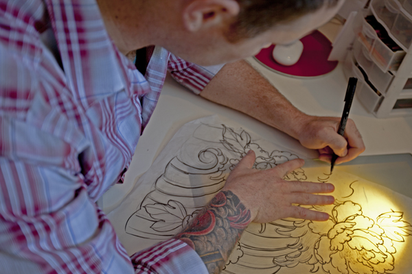 A canvas of flesh artists bring passion skill to for Best tattoo artists in michigan